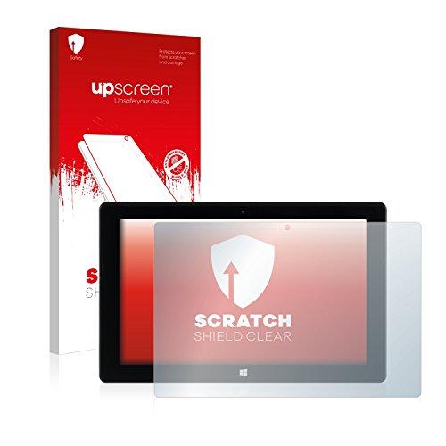 upscreen Schutzfolie kompatibel mit Captiva Pad 10.1 Windows 2016 – Kristallklar, Kratzschutz, Anti-Fingerprint