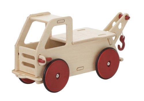 MOOVER Toys Baby Lastwagen Rutscher natur / Baby Truck natural - zerlegbar
