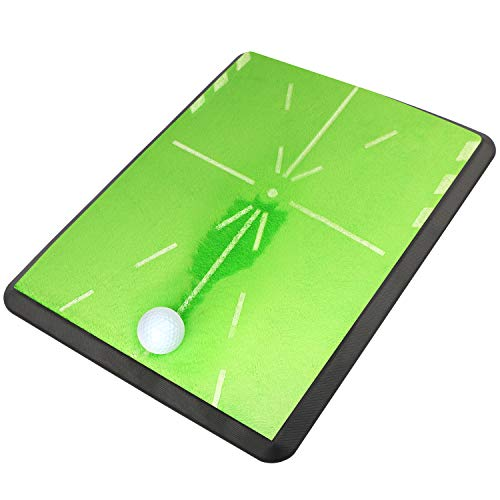 Champkey 13' 17' Tracker Golf Practice Hitting Mat - Traces, Analysis & Correct Your Swing Path