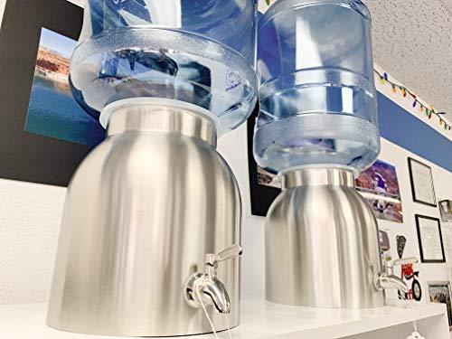 New Wave Enviro Stainless Steel Water Dispenser, 2.2-Gallon(single)