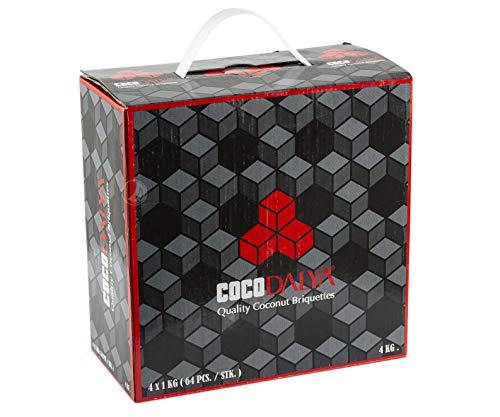 Carbón Natural Cocodalya de la marca Adalya para Shisha o Cachimba - Formato: 4Kg