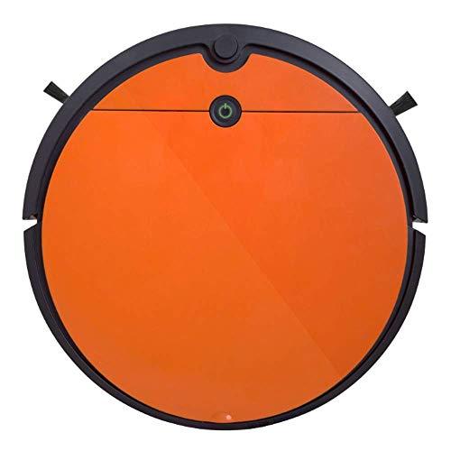Robot aspiradora, Fregar Inteligente barredora, Robot Hoover Auto-Carga, la inducción de la Gota, usando el Pelo de Animales, Pelo, Polvo, Suelo Duro a la Alfombra, Naranja ZHW345