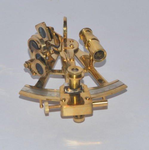 Samara Nautisches Messing-Behandlung, 12,7 cm, Sextant Antik Stil