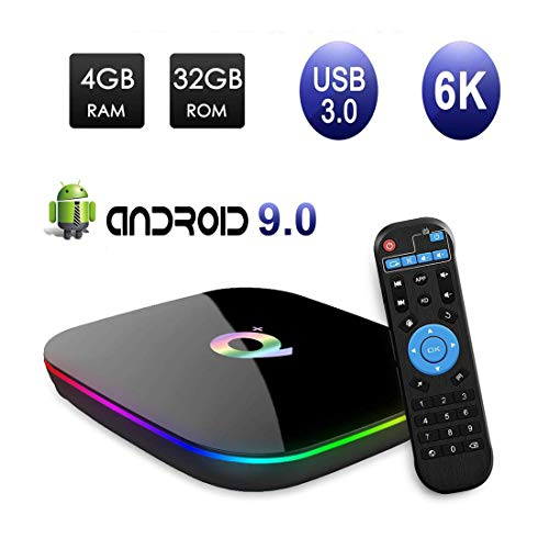 Android TV Box Smart 3D Multimedia Box 4GB RAM / 32GB ROM H6 Quad-Core Cortex-A53 2G Mali-T720MP2 WiFi 2.4GHz ondersteunt 6K H.265 HDMI 2.0