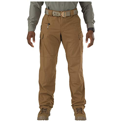 5.11 Men's Stryke Tactical Cargo Work Pant with Flex-Tac, Style 74369, Battle Brown, 38W x 36L