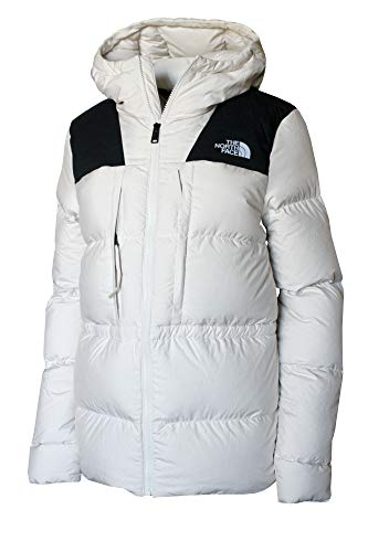 The North Face Women's UX Down Hooded Puffer Jacket RTO (Vintage White, XL)