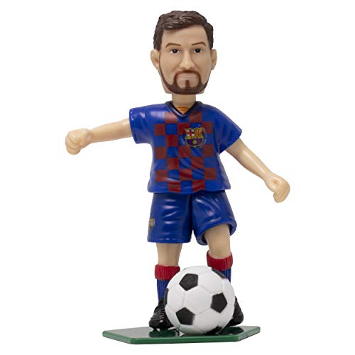 Lionel Messi FC Barcelona Collectible Figurine, Toy Kick Action Figure - Great Gift for Soccer Sports Fans