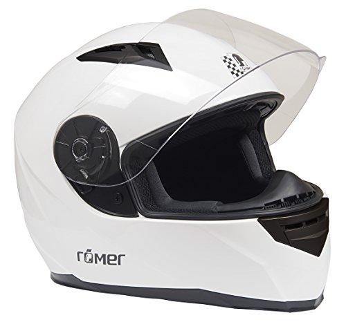 Römer Helmets Römer Integralhelm Frankfurt, Weiß, Größe XL