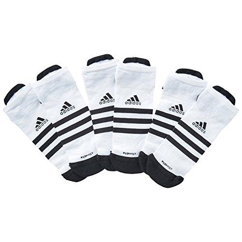 adidas CLMLT 3SLINTC3P Calcetines, Unisex, Blanco/Negro,...