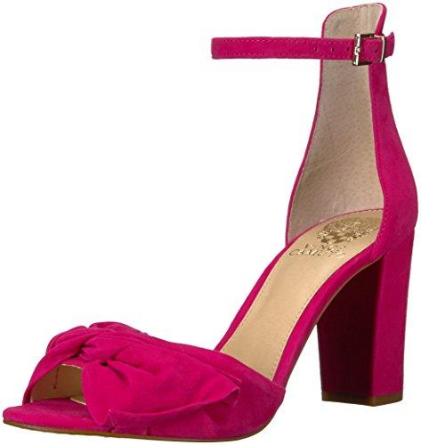 Vince Camuto Carrelen, Sandales avec ajout Femme, Hot Berry Pink, 36.5 EU