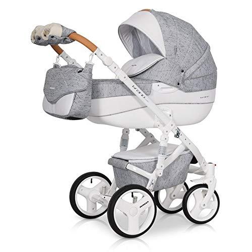 Carro 3 piezas Brano luxe grey