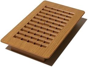 Decor Grates PL408-OC 4-Inch by 8-Inch Plastic Floor Register, Oak Caramel