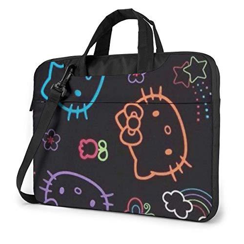 Hokdny Maletín colorido del bolso del mensajero del hombro del ordenador portátil del bolso del ordenador portátil 15,6 pulgadas