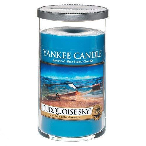 Yankee Candle 'Turquoise Sky' Pillar Candle, Blue, Medium