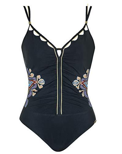 Sunflair Badeanzug, mit Softschalen schwarz 40 / D
