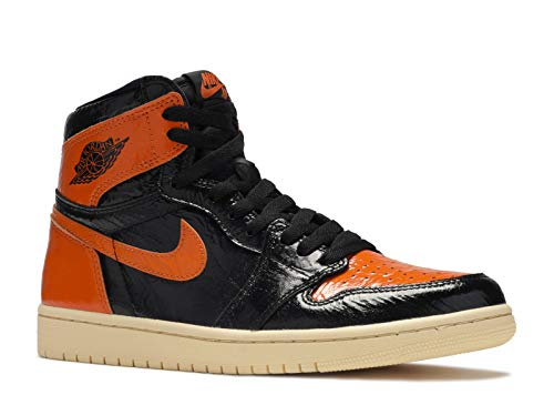Nike Air Jordan 1 Retro Hi OG Shattered Backboard 555088-028 45 EU