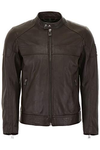 Belstaff A. Racer Jacket Dark Brown-56