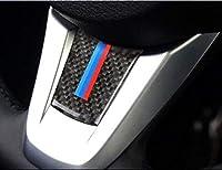 BMW Z4 (E89) 専用 リアルカーボンステッカー ステアリングホイール飾り カーボン調 ・1ピース MOMOKI