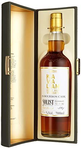 Kavalan Solist Single Malt Bourbon Cask mit Geschenkverpackung Whisky (1 x 0.7 l)