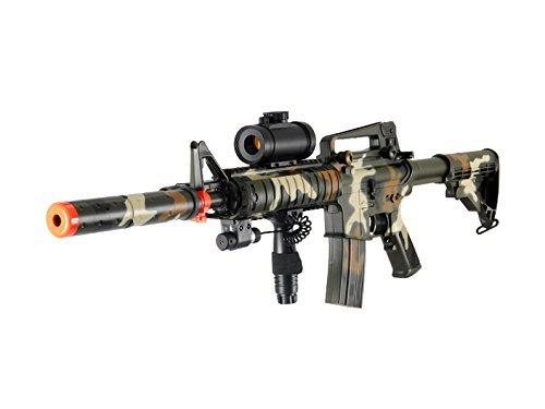 Double Eagle M832A2CAMO AEG Tactical Airsoft Rifle Gun