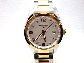 [ロンジン] 腕時計 コンクエスト クラシック 40mm ステンレス&18Kピンクゴールド 自動巻 L2.785.5.76.7