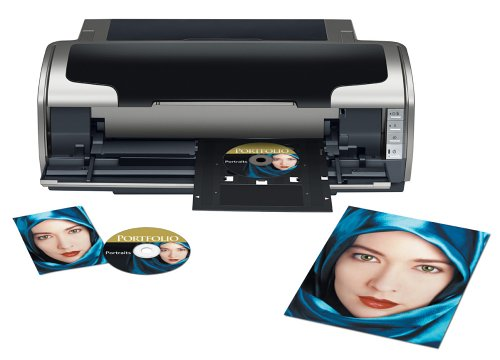 Best Price Epson Stylus Photo R1800 Ink Jet Printer (C11C589011)