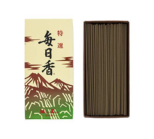 nippon kodo 123Mainichiko Bastoncini di incenso, Motivo: Montagne, Marrone, 16x 8x 3,5cm