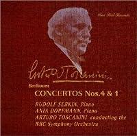 ベートーヴェン : ピアノ協奏曲第1番&第4番