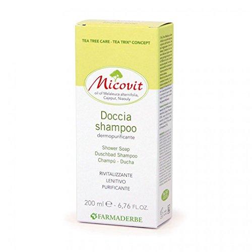 Shampoo Doccia Per Capelli Normali Riequilibrante Micovit Doccia Shampoo 200 Ml