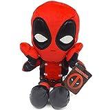 Marvel - Peluche Deadpool Postura Sorpresa 32cm Calidad Super Soft
