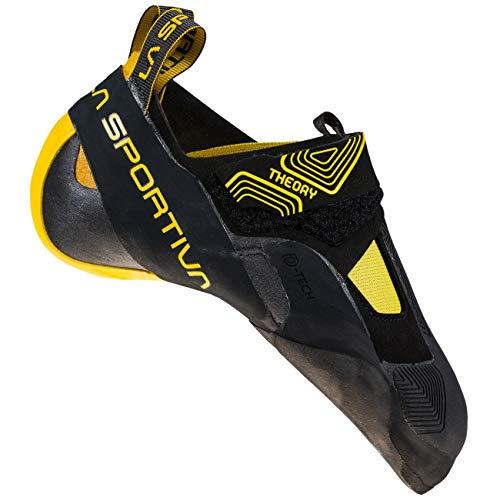 LA SPORTIVA Theory, Zapatillas de Trekking Hombre, Black/Yellow, 39.5 EU
