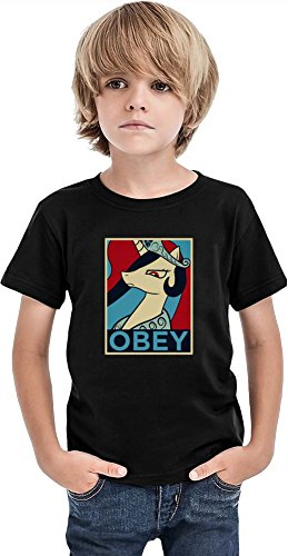 Styleart Celestia Camiseta para niños, Negro, 2-3 Años