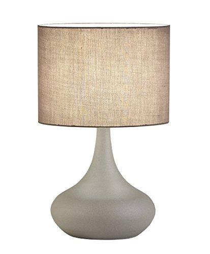 viokef Lighting 4153000lámpara de escritorio D300lana, Metal/Fabric, E27, Gris concrète, 30x 30x 50