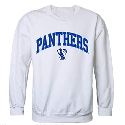W Republic EIU Eastern Illinois University Campus Crewneck Pullover Sweatshirt Sweater White XX-Large