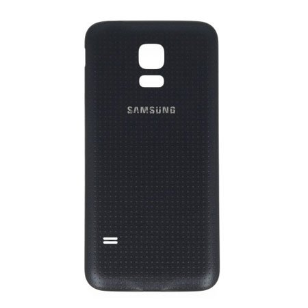 Original Akkudeckel für Samsung G800Galaxy S5Mini Schwarz Bulk
