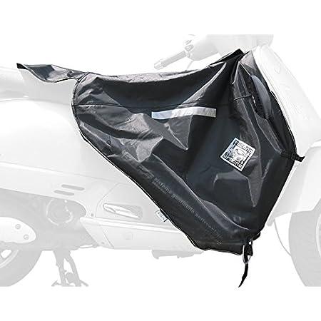 Compatible avec Piaggio Vespa GTS 300 Super Notte 2019 19 Tablier Couvre-Jambes Tucano Urbano R154-X TERMOSCUD SP/ÉCIFIQUE pour Scooter Couverture Thermique IMPERM/ÉABLE Interne ECO Fourrure