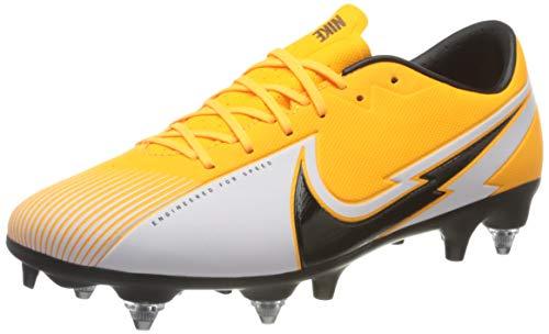 Nike Vapor 13 Academy SG-Pro AC, Football Shoe Unisex-Adult, Laser Orange/Black-White-Laser Orange, 43 EU