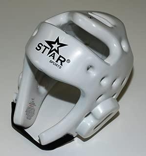 Star Sports Taekwondo TKD Kickboxing Helmet Head Gear Guard Protector Xs-l White