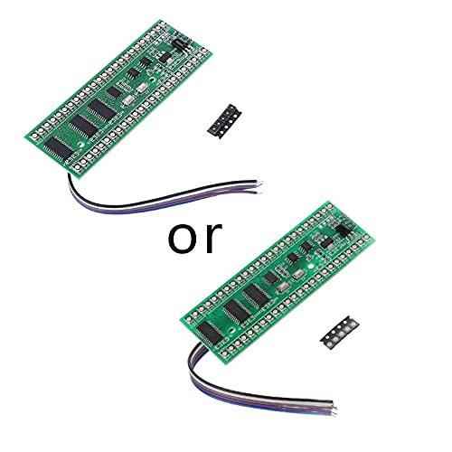 ETSK RGB MCU patrón de pantalla dual canal 24 LED VU indicador de nivel medidor F amplificador