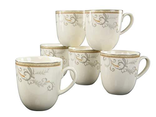 CreaTable 17804, Serie Villa Medici, Geschirrset Kaffeebecher 6 teilig