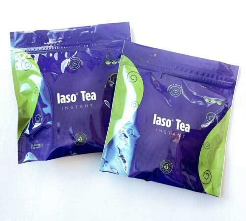 Total Life (TLC) - IASO Original Instant Detox Tea (2 New UNOPENED Pouches) - 50 Sachets