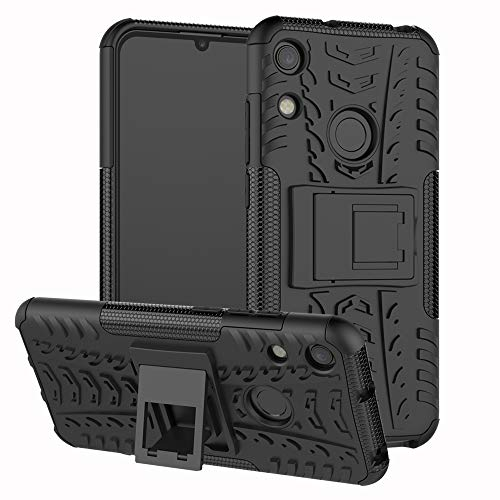 HülleExpert Honor 8A Hülle, Hülle Abdeckung Cover Schutzhülle Tough Strong Rugged Shock Proof Handy Tasche Heavy Duty Etui Hüllen Für Honor 8A / Huawei Y6 Pro 2019 / Huawei Y6 2019