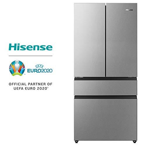 Hisense RF540N4SBI2 FrenchDoor/Kühl-Gefrierkombination/NoFrost/A++ / Inverter Kompressor/Kühlteil 299 Liter/Gefrierteil 90 Liter/My Fresh Choice 32 Liter/ Inox Look