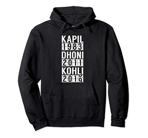 India Cricket Team Fan Jersey Pullover Hoodie