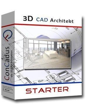 3D CAD Architekt Starter - Hausplaner von ConCadus