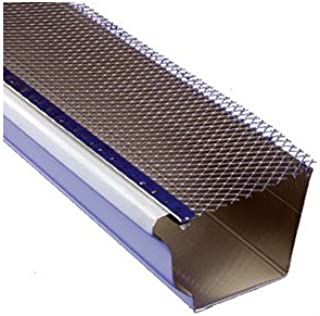 Berger Building Products Aluminum Drop-In Gutter Guard (Carton of 50, 3ft. Pieces) (For 5in. Gutters)