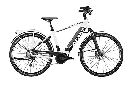 Atala Bicicletta elettrica B-Tour SLS Man 10 velocità, White/Anthracite/Black Matt, Misura M (49cm), Kit Elettrico Bosch Performance Cruise 500wh