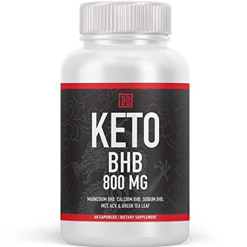 Keto BHB Exogenous Ketone Supplement - Beta Hydroxybutyrate Ketone Salt,...