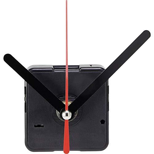 Basetech BT-1680333 Quarz Uhrwerk schleichend Drehrichtung=rechts Zeigerwellen-Länge=6 mm