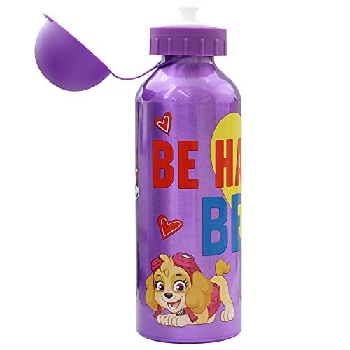 SKYLINE Cantimplora Infantil 500 ML, Botella Aluminio para Niñas, Térmica, Con Tapa Hermética, Sin BPA, Para Llevar a la Escuela, Parque, Deportes etc